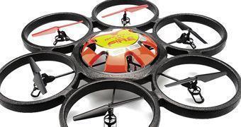 Skywalker RC Hexacóptero com Controle Remoto