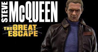 Steve McQueen – Action Figure Perfeita do Filme The Great Escape (Fugindo do Inferno)