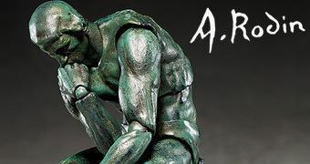 Action Figure Figma O Pensador de Auguste Rodin