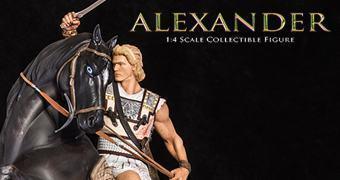 Estátua 1:4 de Alexandre, o Grande