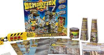Laboratório de Demolição Demolition Lab da SmartLab Toys