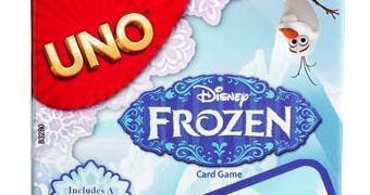 Jogo de Cartas Uno do Filme Frozen – Uma Aventura Congelante