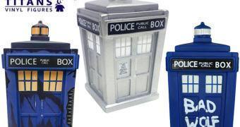 Doctor Who TITANS: TARDIS Trenzalore, TARDIS Bad Wolf e TARDIS Prateada!