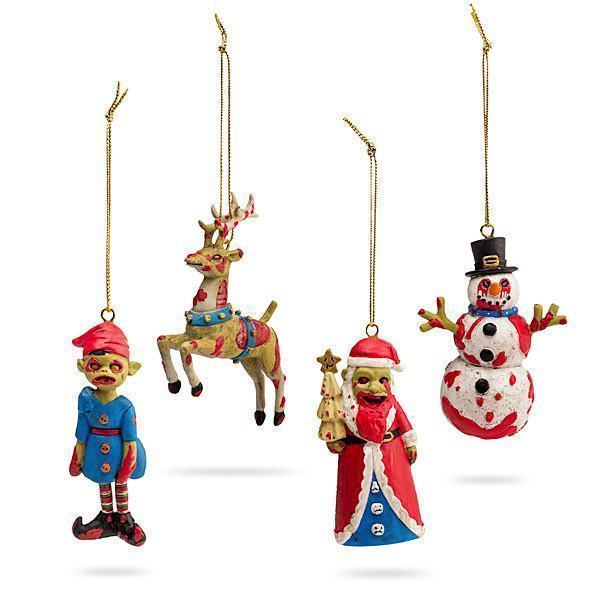 Enfeites-de-Natal-Zumbi-ThinkGeek-Zombie-Ornament-Set-01