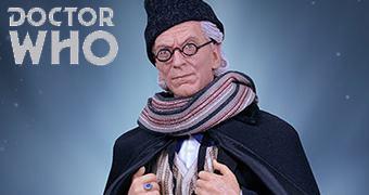 William Hartnell como o 1º Doctor – Action Figure Perfeita Doctor Who