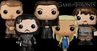 Bonecos Game of Thrones Pop! Série 4: Sansa, Littlefinger e Samwell Tarly