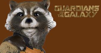 Os Guardiões da Galáxia: Rocket Raccoon em Tamanho Real