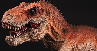 King T-Rex – Estátua Tiranossauro Rex em Escala 1:35