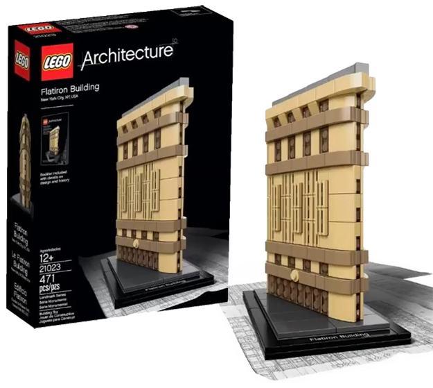 LEGO-Architecture-Flatiron-Building