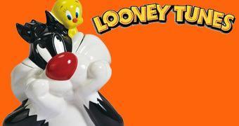 Pote de Cookies Looney Tunes: Frajola e Piu-Piu
