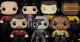 Bonecos Funko Pop! Star Trek: A Nova Geração