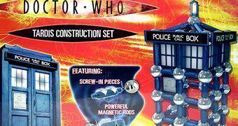Quebra-Cabeça Magnético Doctor Who TARDIS Supermag