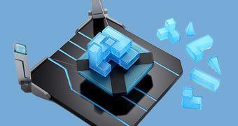 Jogo de Empilhar em Plataforma Flutuante: Hoverkraft Levitating Construction Challenge
