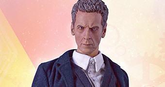 Peter Capaldi como o 12º Doctor – Action Figure Perfeita Doctor Who