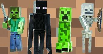 Action Figures Minecraft Hostile Mob