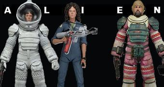 "Action Figures Alien 7"" Série 4: Ellen Ripley e Dallas"
