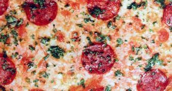 Almofada Pizza de Calabresa