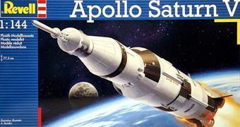 Kit de Montar Revell do Foguete Apollo Saturn V em Escala 1:144