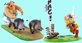 Asterix, Obelix e Ideiafix – Estátuas Leblon-Delienne