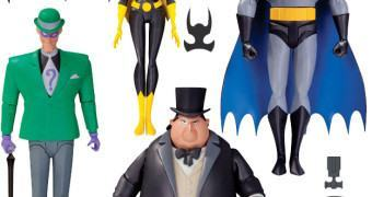 Action Figures Batman: A Série Animada