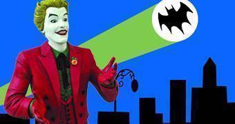 Cofre Coringa (Cesar Romero) da Série Clássica Batman de 1966