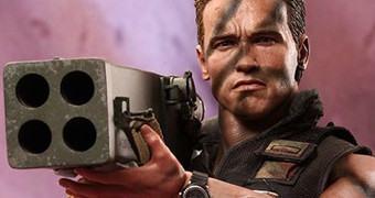 Comando para Matar: Arnold Schwarzenegger como John Matrix – Action Figure Perfeita Hot Toys