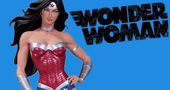 Estátua DC Comics Cover Girls: Wonder Woman (Mulher Maravilha)