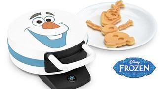 Máquina de Waffles Boneco de Neve Olaf de Frozen – Uma Aventura Congelante