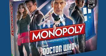 Monopólio Doctor Who Edição de Regeneração com Peter Capaldi