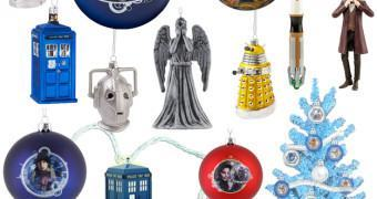 Enfeites de Natal Doctor Who
