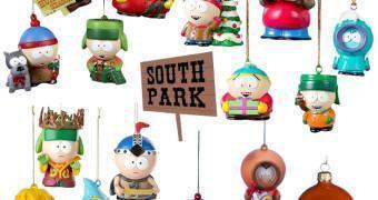 Enfeites de Natal South Park
