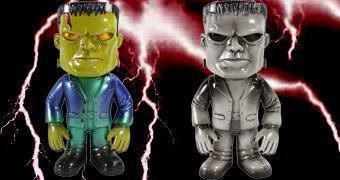 Bonecos Frankenstein Funko Hikari Sofubi em Estilo Japonês (Monstros do Universal Studios)