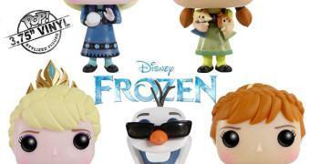 Frozen – Uma Aventura Congelante Bonecos Funko Pop! Série 2