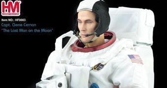 Action Figure 1:6 do Astronauta Gene Cernan, o Último Homem na Lua