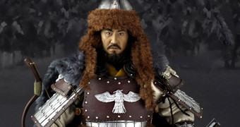 Action Figure Perfeita do Imperador Mongol Genghis Khan em Escala 1:6