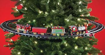 Trenzinho Elétrico para Árvore de Natal!