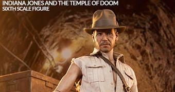 Indiana Jones e o Templo da Perdição – Action Figure Perfeita Sideshow