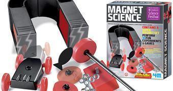Kit Científico Magnético com Imãs: 4M Magnet Science Kit