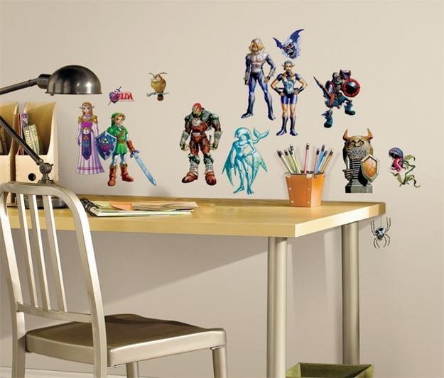 Legend-of-Zelda-Ocarina-of-Time-3D-Peel-and-Stick-Wall-Decals-01