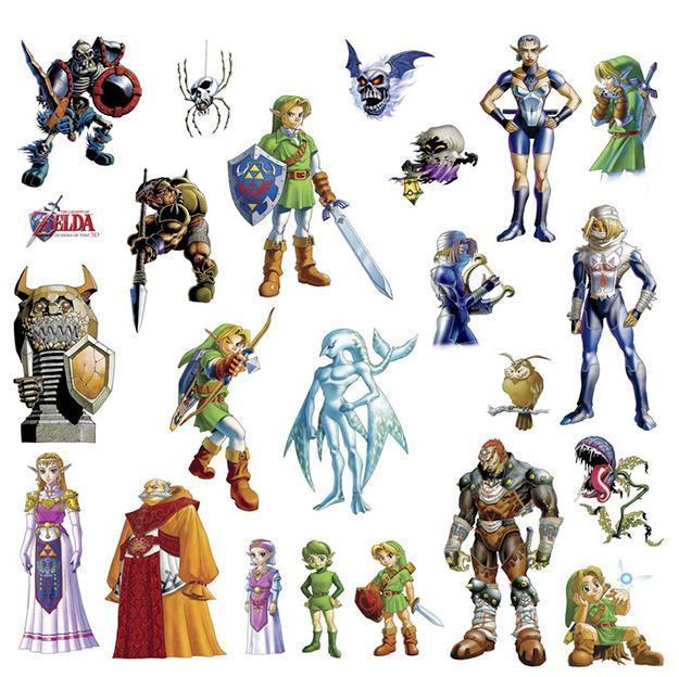 Legend-of-Zelda-Ocarina-of-Time-3D-Peel-and-Stick-Wall-Decals-02