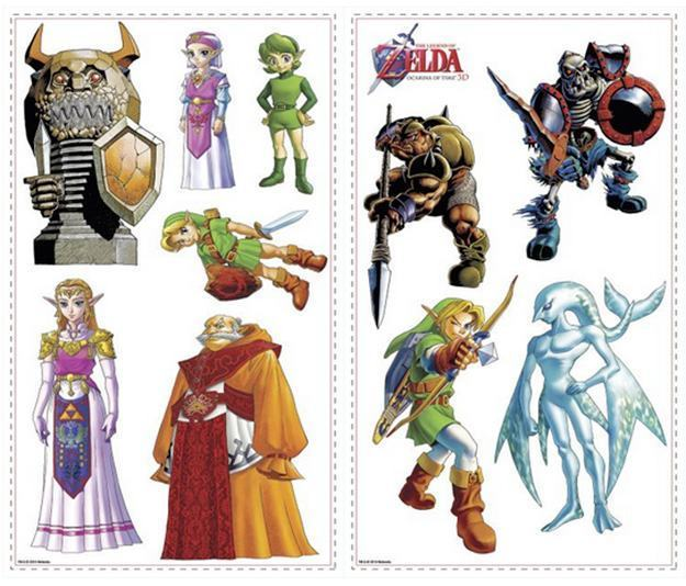 Legend-of-Zelda-Ocarina-of-Time-3D-Peel-and-Stick-Wall-Decals-03
