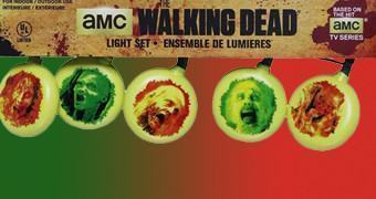 Luzes de Natal The Walking Dead