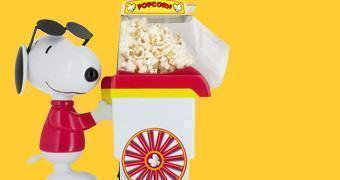 Pipoqueira Snoopy Popcorn Popper Maker