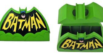 Pote de Cookies Batman 1966 Logo Cookie Jar