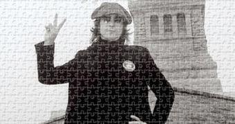 Quebra-Cabeça John Lennon Paz com 1.000 Peças (34 Anos Sem Lennon)