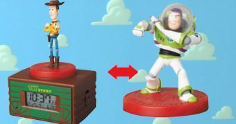 Despertador Medicom Toy Story UDF com Woody e Buzz