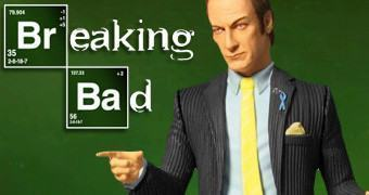 Action Figure Saul Goodman da Série Breaking Bad