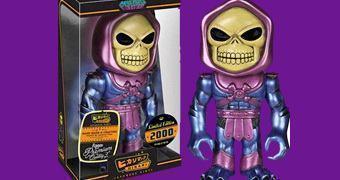 Boneco Esqueleto Funko Hikari Sofubi em Estilo Japonês (He-Man e os Mestres do Universo)