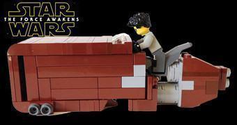 Star Wars: The Force Awakens – Novo Landspeeder LEGO