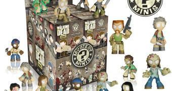 The Walking Dead Mystery Minis 3 – Mini-Figuras Funko (Blind-Box)